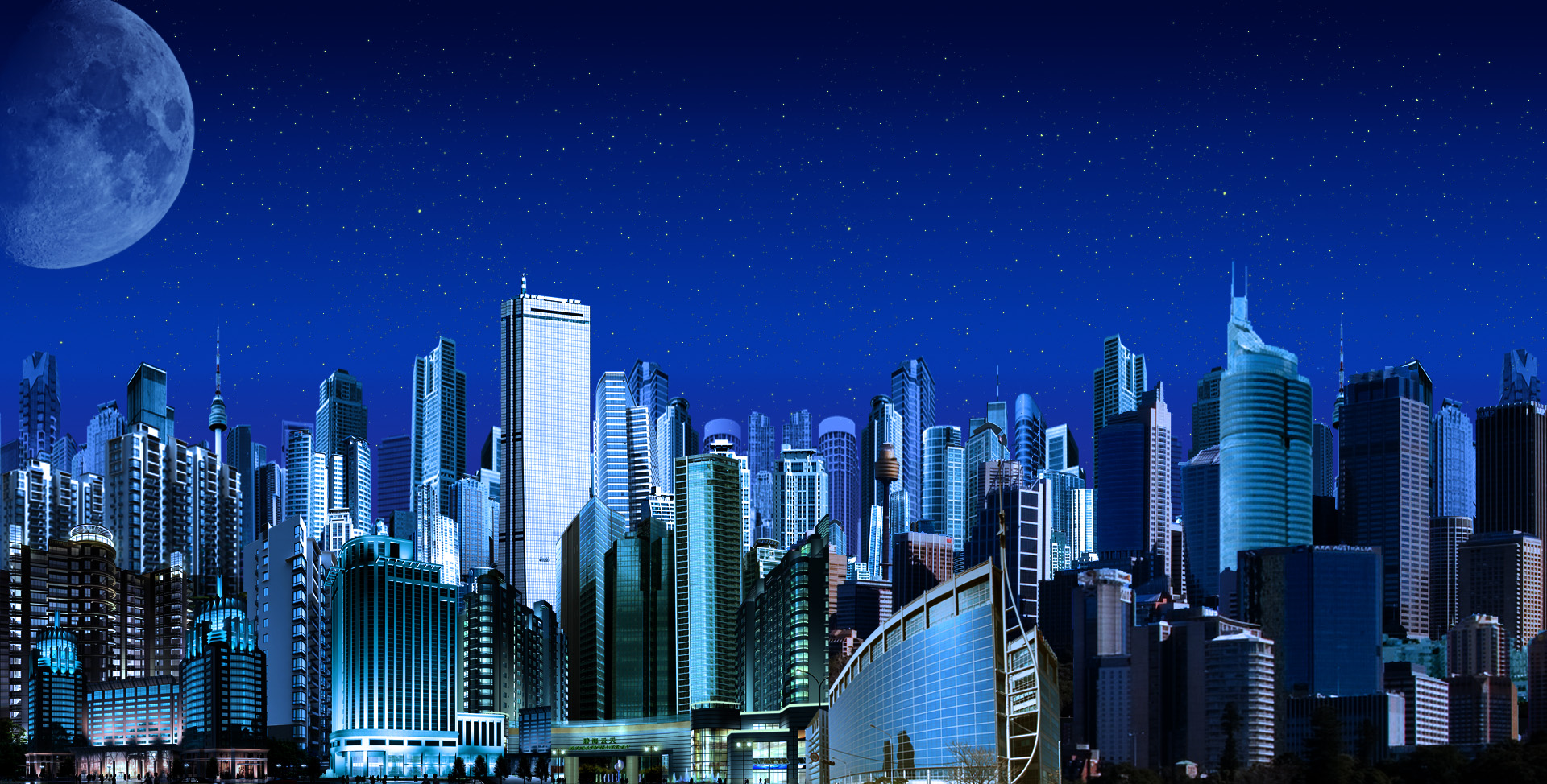 MegaCity II Night