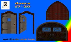 doors 17 - 20 by goazilla