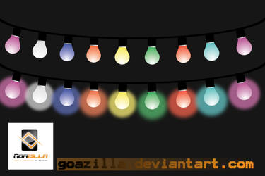 chain of lights by goazilla