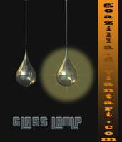 glass lamp by goazilla
