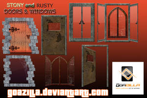stony and rusty collection by goazilla