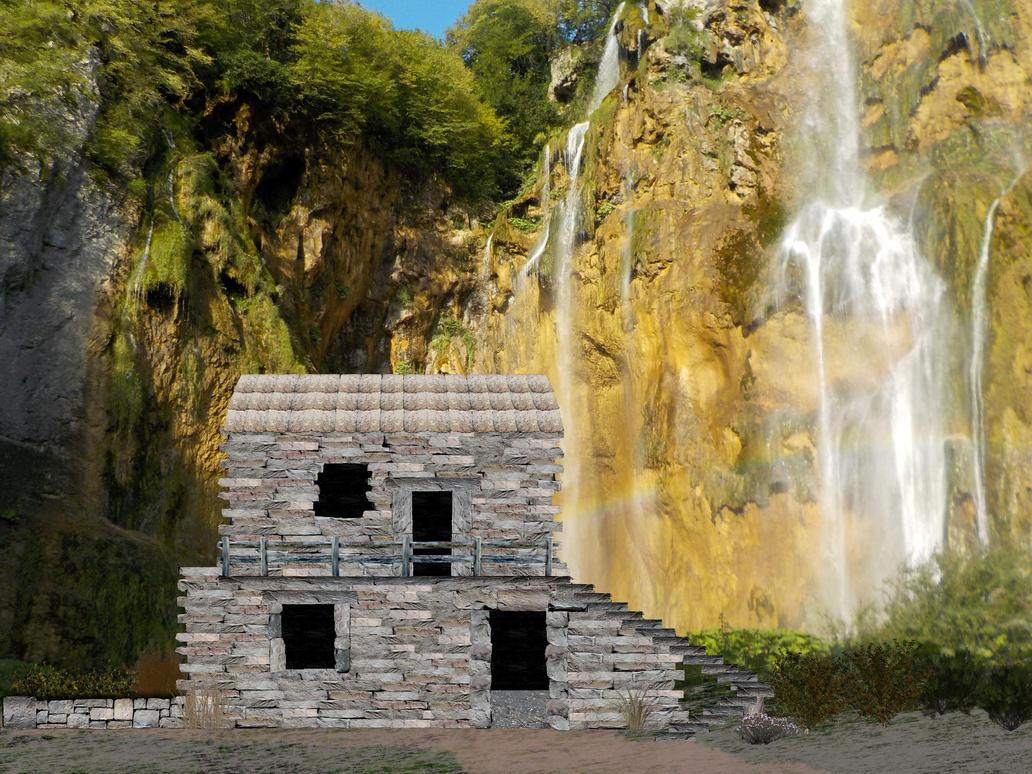 stonehouse in croatia by goazilla