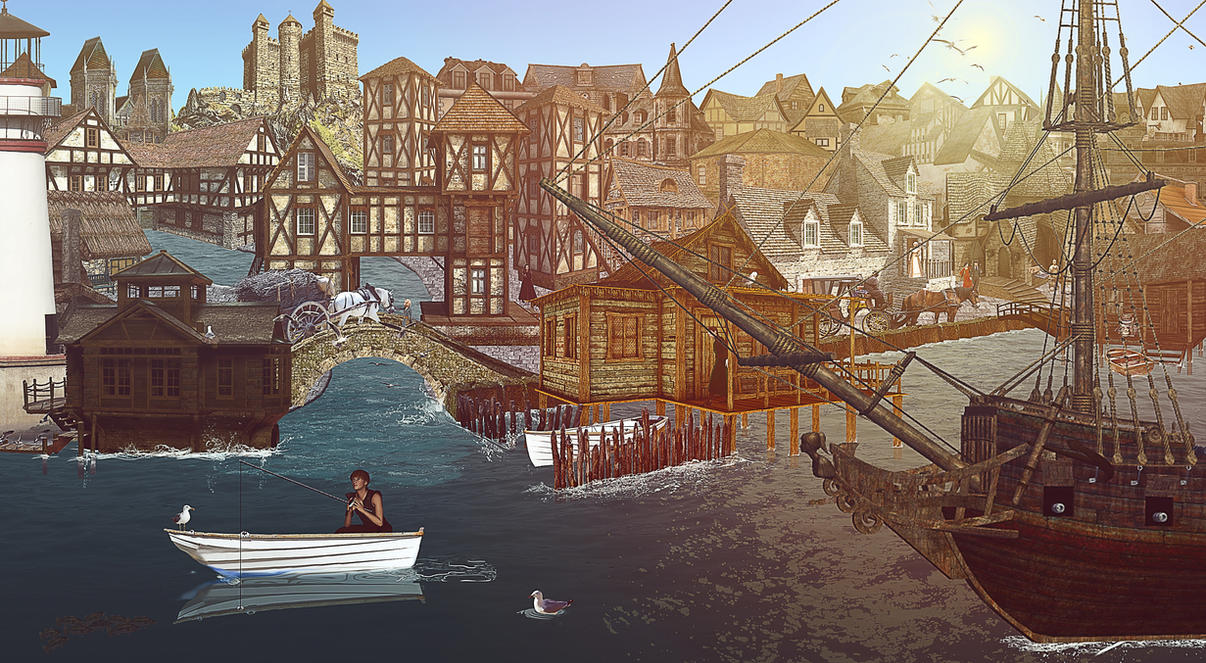 little lake town by goazilla