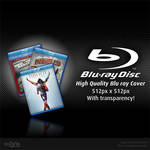 Blu ray Cover PSD File