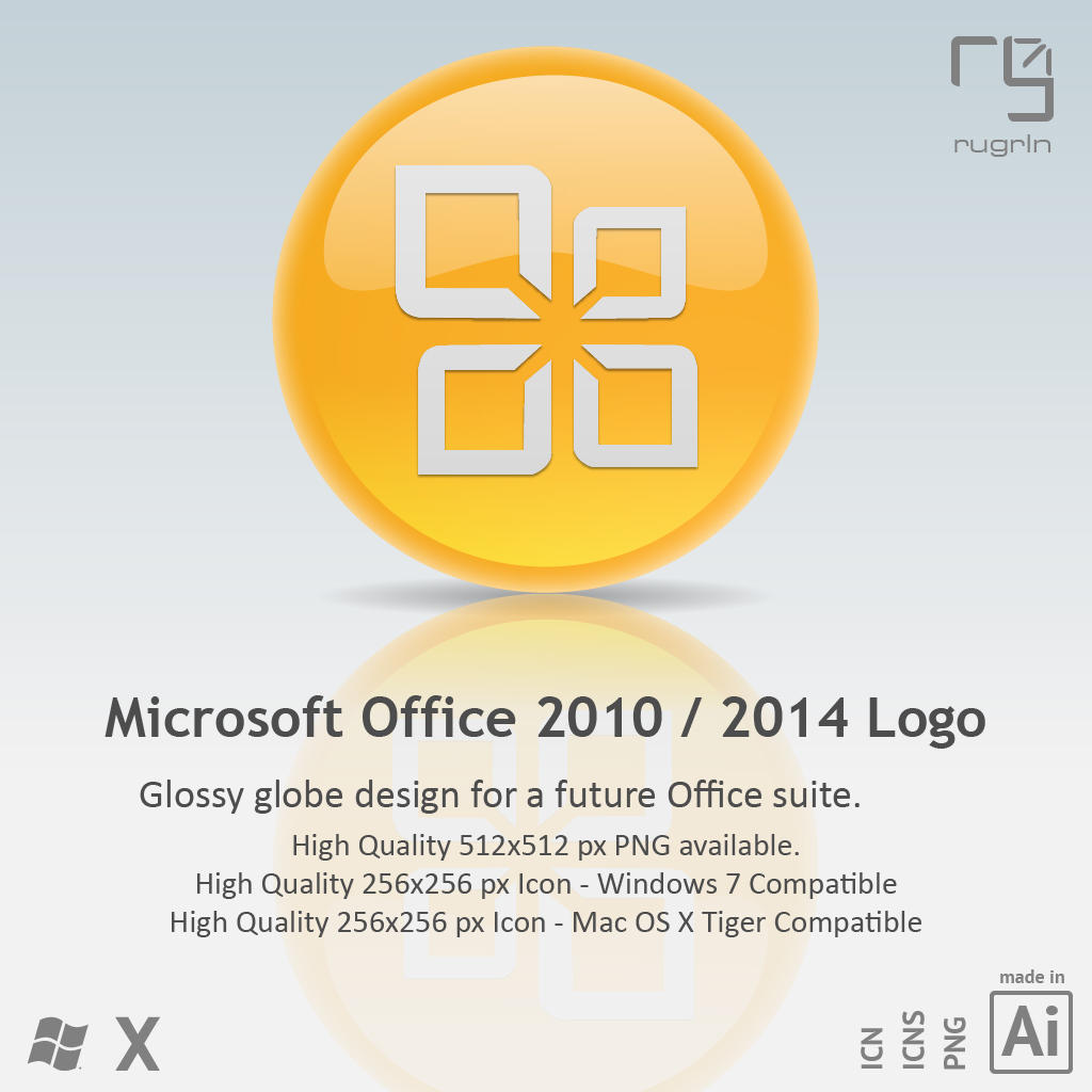 MS Office 2010 - 2014 Icon by RUGRLN