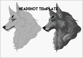 FREE Headshot Template by miyuuma