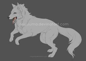 PSD Wolf Base - FREE by miyuuma