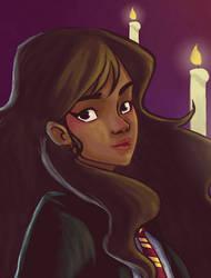 Hermione (gif) by Miyacheshire