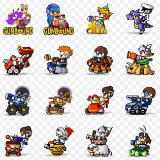 Gunbound Icons by hush66