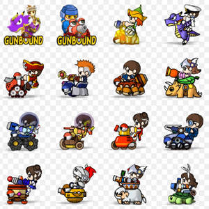 Gunbound Icons