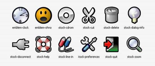 Gorilla Stock Icons by hush66