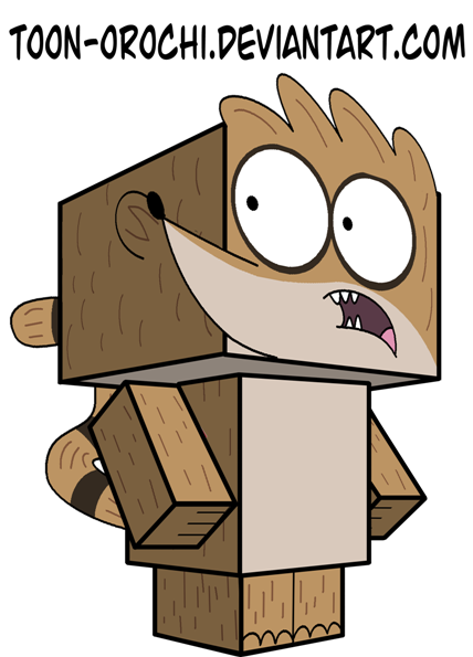Rigby Cubee by Toon-Orochi