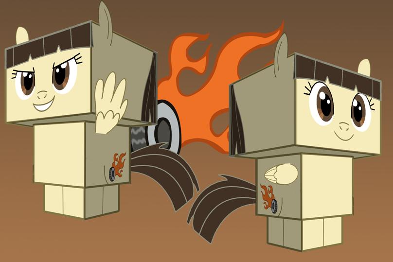 Wild Fire cubee by Toon-Orochi