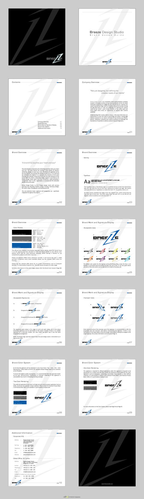 Breeze DS Brand Usage Guide by qdstudios