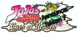 Tekken 7 - Jojo's Eyes Of Heaven Announcer