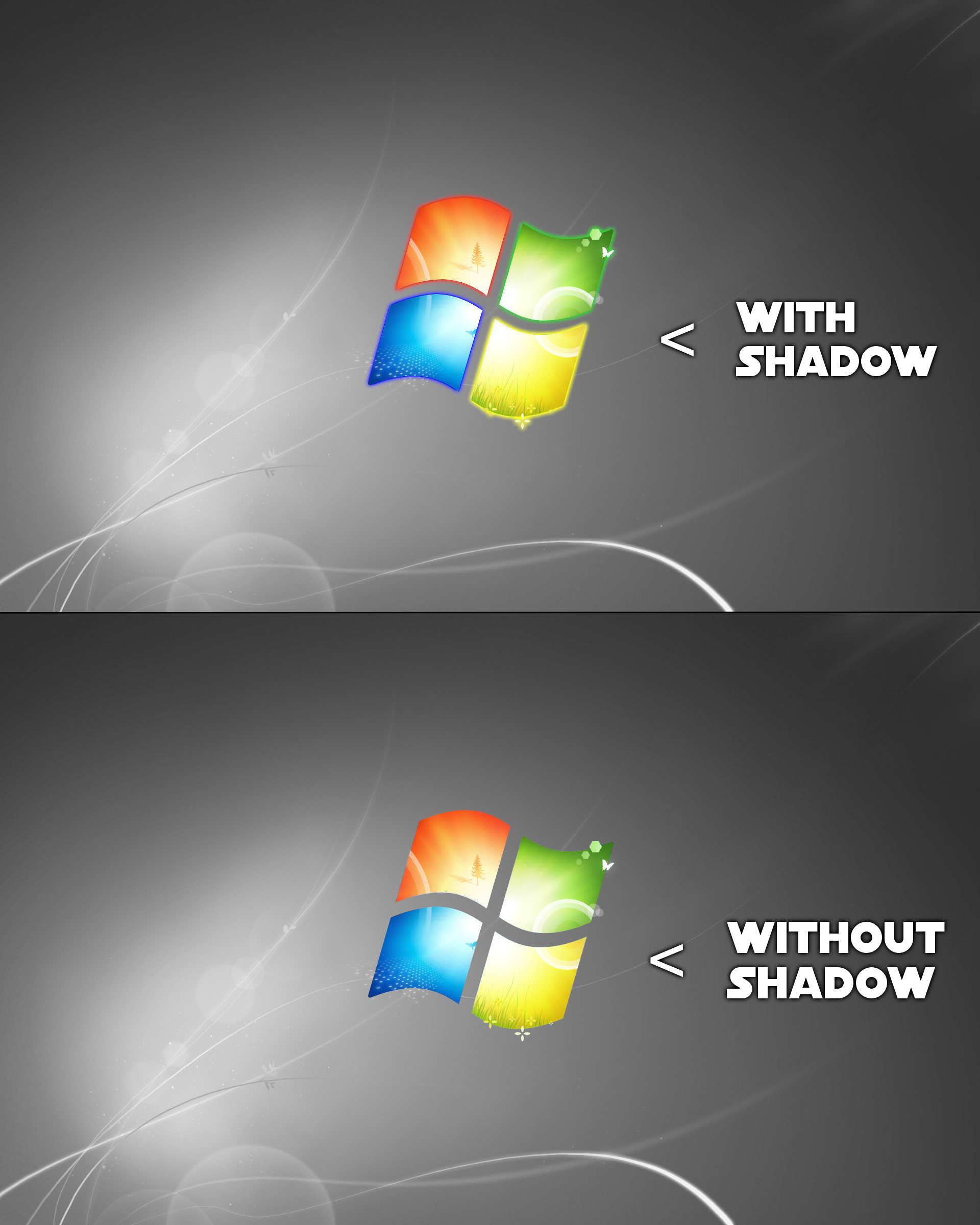 Windows 7 Black Wallpaper By Enoninja On Deviantart
