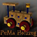 Wood Train by Dracofemi