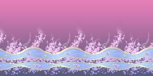Fishes kimono pattern