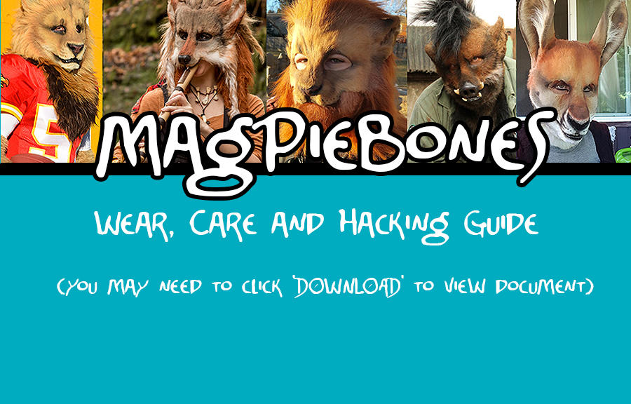 A guide to hacking your Magpiebones mask