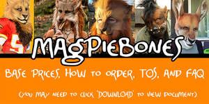 Magpiebones Catalog!- (Read info below!)