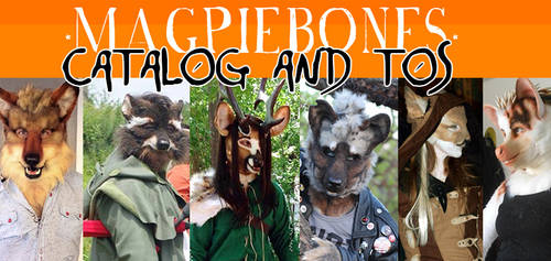Magpiebones Catalog and TOS