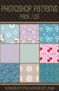Photoshop Patterns - Pack 03