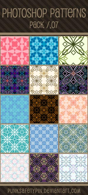 Photoshop Patterns - Pack 07