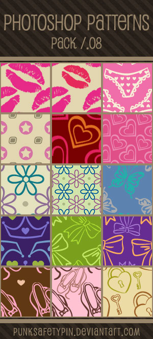 Photoshop Patterns - Pack 08
