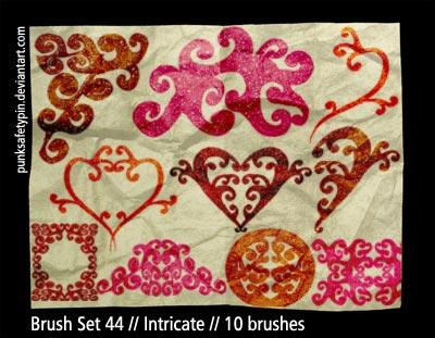 Brush Set 44 - Intricate