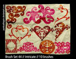 Brush Set 44 - Intricate