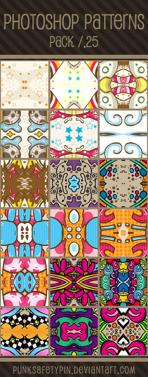 Photoshop Patterns - Pack 25