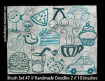BrushSet 47 - HandmadeDoodles2