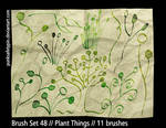 Brush Set 48 - Plant Things