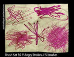 Brush Set 50 - Angry Strokes
