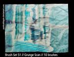 Brush Set 51 - Grunge Scan