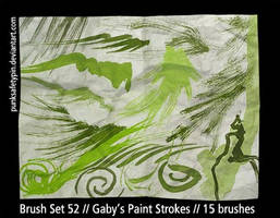 BrushSet52-Gaby'sPaintStrokes by punksafetypin