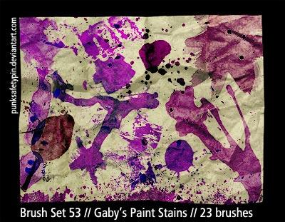 BrushSet53-Gaby'sPaintStains