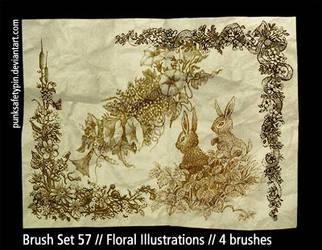 BrushSet57-FloralIllustrations by punksafetypin