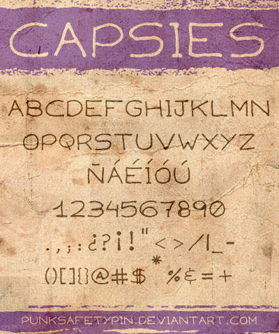 capsies font