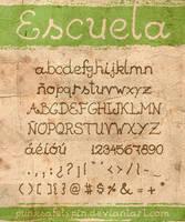 Escuela Font by punksafetypin