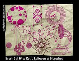 Brush Set 64 - Retro Leftovers