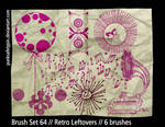 Brush Set 64 - Retro Leftovers