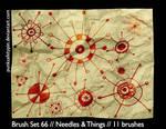 BrushSet66-Needles and Things