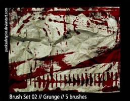 Brush Set 02 - Grunge by punksafetypin
