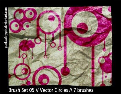 Brush Set 05 - Vector Circles by punksafetypin