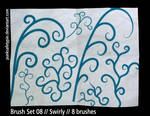 Brush Set 08 - Swirly