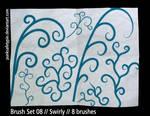 Brush Set 08 - Swirly