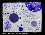 Brush Set 11 - Dots