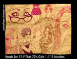 Brush Set 17 - That 70s Girls