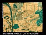 Brush Set 18 - That 70s Girls